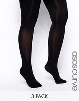 Asos 80 Denier 3 Pack Tights