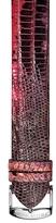 Philip Stein Teslar Unisex Large Pink Teju Lizardskin Strap