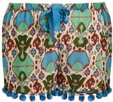 Figue Maja cotton-blend organdie shorts