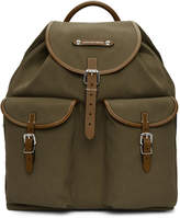 Alexander McQueen Green Small Hiking Backpack