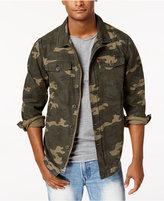 Levi's Men's Camouflage Shirt Jacket