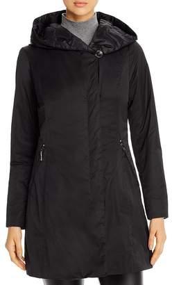 T Tahari Asymmetric Raincoat