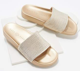 Katy Perry Slide Sandals - The Jimmi Metallic