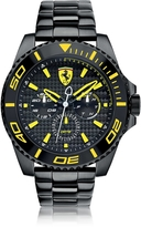 Ferrari XX Kers Black and Yellow Stainless Steel Men's Watch
