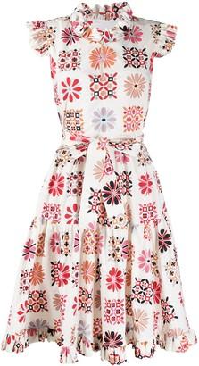 La DoubleJ Floral Print Dress