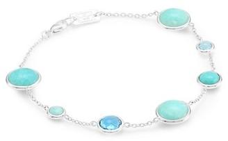 Ippolita Lollipop Sterling Silver & Multi-Stone Soft Bracelet