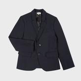 Paul Smith Boys' 7+ Years Navy Wool 'Lord' Blazer