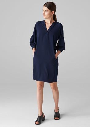 Hallie Trim Detail Dress