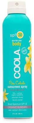 Coola SPF 30 Pina Colada Body Sunscreen Spray
