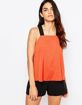 AX Paris Tunic With Contrast Straps