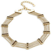 House Of Harlow Multi-Row Chainlink Choker Necklace
