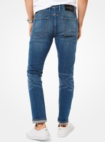 Michael Kors Parker Slim-Fit Selvedge Jeans