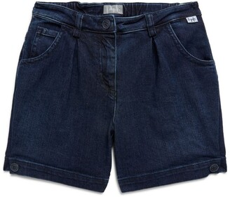 Il Gufo Denim Bermuda Shorts (3-12 Years)