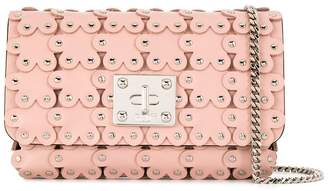 RED Valentino RED(V) Flower Puzzle crossbody bag