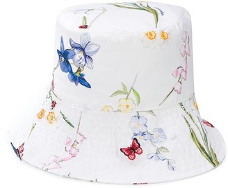 MonnaLisa Floral Print Bucket Hat
