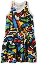 Stella McCartney mimosa paint strokes dress