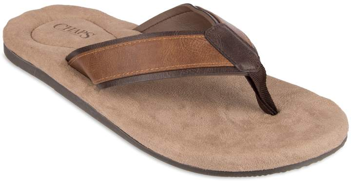 18389ec827531 Men's Overlay Thong Flip-Flops