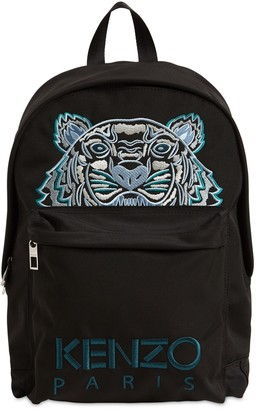 Kenzo Tiger Embroidered Canvas Backpack