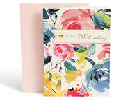 Marks and Spencer Floral 70th Birthday Card