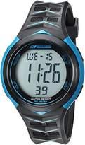 Skechers Men's 'Chevron Strap' Quartz Plastic Casual Watch, Color:Black (Model: SR1084)