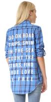 Sundry To Do List Oversized Shirt