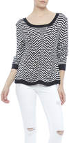MinkPink Psychedelic Jacquard Sweater