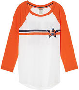 PINK Houston Astros Bling Perfect Baseball Tee