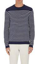 Barneys New York MEN'S STRIPED WOOL SWEATER