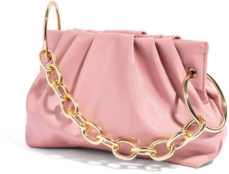 House of Want Chill Framed Clutch In Pink