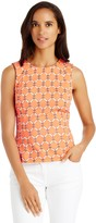 J.Mclaughlin Tania Sleevelss Crew Neck Fitted Top
