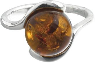 Nature D'ambre Nature d 'Ambre 3111187Women's Ring Silver 925/1000Amber