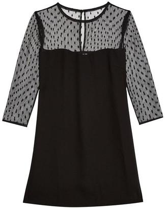 Jack Wills Penny Mesh Sleeve Dress