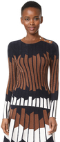 Yigal Azrouel Geometric Sweater