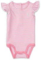 Ralph Lauren Baby Girls Striped Bodysuit