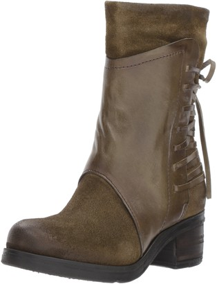 Miz Mooz Women's Sakinah Boot Green 36 M EU (5.5-6 US)