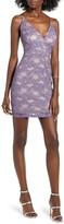 Love, Nickie Lew Glitter Lace Body-Con Dress