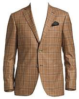 Saks Fifth Avenue Men's COLLECTION Plaid Wool Sportcoat