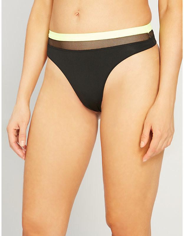Agent Provocateur Zenaya mid-rise bikini thong