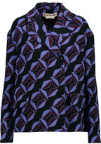 Marni Printed Wool-Crepe Jacket