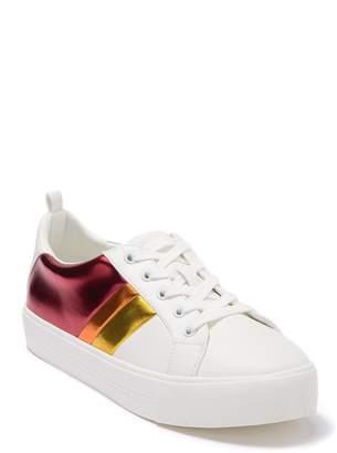 Call it SPRING Augustski Striped Platform Sneaker