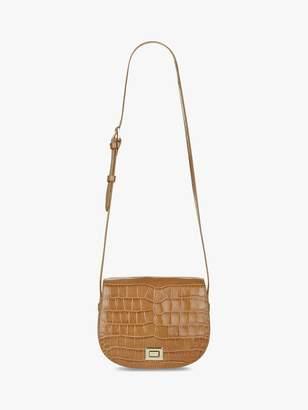 Hobbs Oxford Leather Saddle Bag