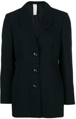Versace Pre-Owned Pinstriped Blazer