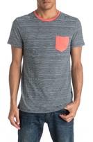 Quiksilver Men's Cape May Lefts Stripe Pocket T-Shirt