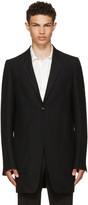 Rick Owens Black Stravinski Coat
