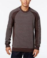 Sean John Men's Ottoman Stripe Sweater