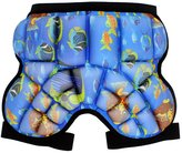 M-Egal Child Kids Cartoon Outerwear Hockey Pants Hip Pad Shorts Protective Pads