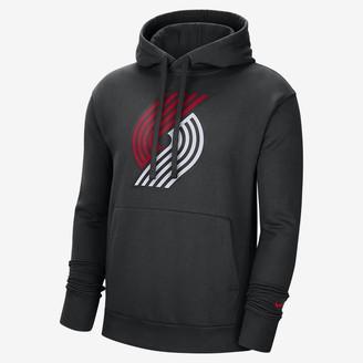 Nike Men's NBA Pullover Hoodie Portland Trail Blazers Essential