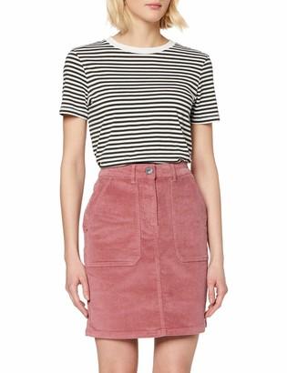 Dorothy Perkins Tall Women's Pink Cord Patch Mini Skirt 8