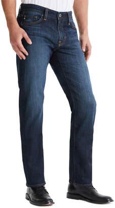 AG Adriano Goldschmied Men's Protege Straight-Leg Dark-Wash Jeans