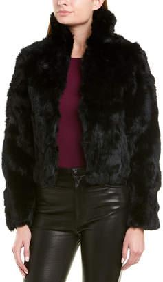 Adrienne Landau Textured Reversible Jacket